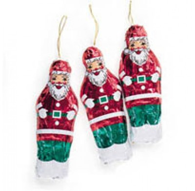 MADELAINE<br />SANTA ORNAMENT .75oz.