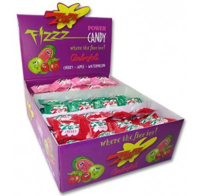 ZOTZ<BR>CHERRY/APPLE/WATERMELON 48ct.