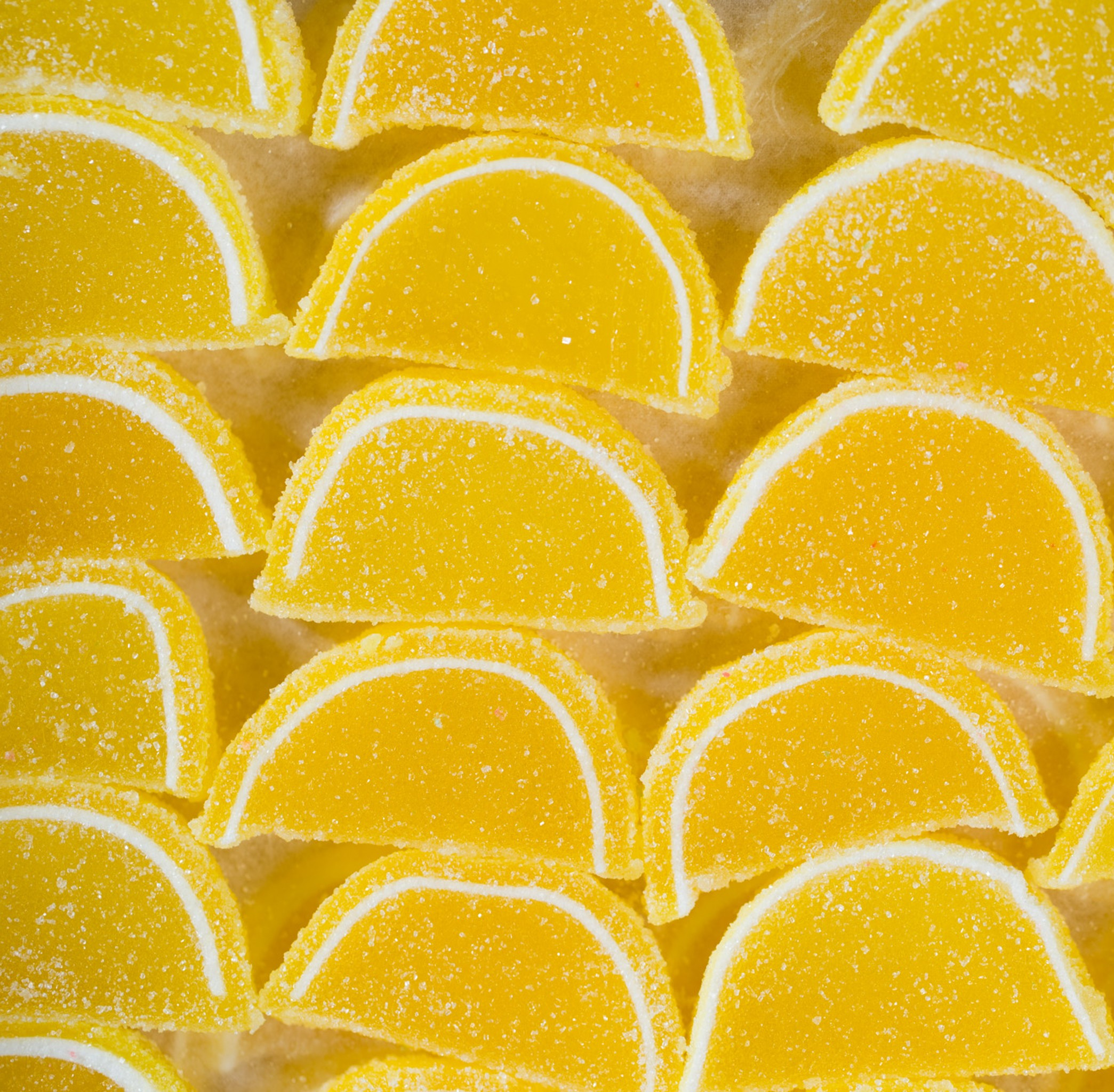 Cavalier Fruit Slices Lemon Sweet City Candy