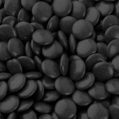 Chocolate Buttons (Gems) Milk Chocolate Black