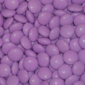Chocolate Buttons (Gems) Milk Chocolate Purple