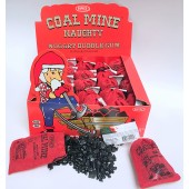 "Coal Mine ""Naughty"" Nugget Bubble Gum 24ct."