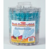Rock Candy on a Stick 36ct. Tub Light Blue (Cotton Candy Flavor)