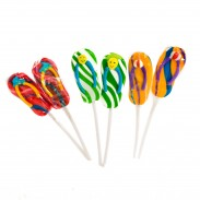 Sandal Suckers Lollipops 24ct.