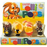 MOM 'N POPS EASTER CHOC. LOLLIPOPS