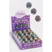 SPOOKY SPIDERS 60CT.