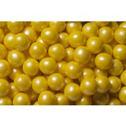 "Gumballs 1/2"" Shimmer Yellow 2lb. Bag"