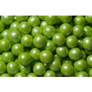 "Gumballs 1/2"" Shimmer Lime Green 2lb. Bag"