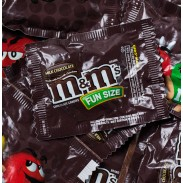 M&M MILK CHOCOLATE FUN SIZE BAGS
