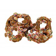 Pretzel Milk Chocolate with Mini Nonpareils