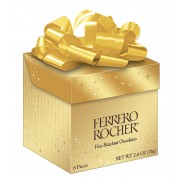 Ferrero Rocher 6pc. - 2.6oz. Cube - 4 Count