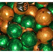 MADELAINE MILK CHOCOLATE HALLOWEEN BALLS FOILED