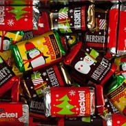 *Hershey Miniatures Christmas Colors