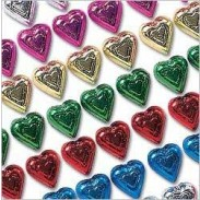 Madelaine Milk Chocolate Rainbow Hearts