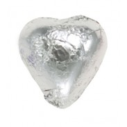*Thompson Silver Foil Milk Chocolate Hearts