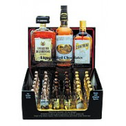 LIQUOR BOTTLES COUNTER DISPLAY