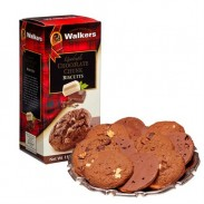 Walkers Quad Chocolate Cookies 5.3oz.-4 Count
