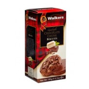 Walkers Quad Chocolate Cookies 5.3oz.