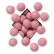 ALL NATURALPINK MILK CHOCOLATEMALTED MILK BALLS