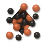 MALTED MILK BALLSDARK CHOCOLATEHALLOWEEN ORANGE & BLACK