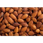 Almonds Roasted Salted 1 lb. Bag