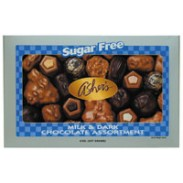 Asher Sugarfree Assorted Boxed Chocolates 8oz.-12 Count