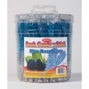 Rock Candy on a Stick 36ct. Tub Blue (Blue Raspberry Flavor)