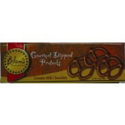BLUM'S MILK CHOCOLATE COVERED PRETZELS 3.5oz.