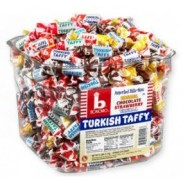 BONOMO TURKISH TAFFY216pc. CHANGEMAKER ASSORTED BITE SIZE