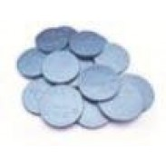 IT'S A BOYBLUE FOILEDMILK CHOC. COINS 2lbs.