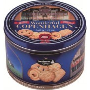 WONDERFUL COPENHAGENBUTTER COOKIES 12oz.