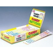 CANDY BUTTONS WRAPPED SINGLE STRIPS .5oz