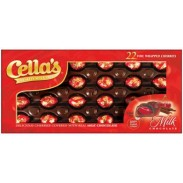 Cellas Cherries Milk Chocolate 11oz. Acetate  Box-12 Count