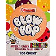 CHARMS BLOW POPSLOLLIPOP 100 COUNT
