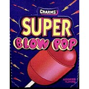 CHARMS SUPER BLOW POP LOLLIPOP 48CT