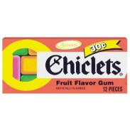 CHICLETS FRUIT