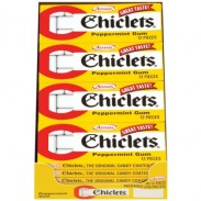 Chiclets Peppermint