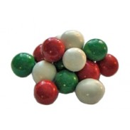 Christmas Malt Balls Red, Green & White