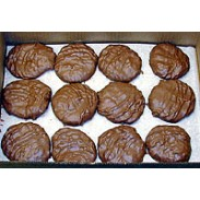 COCONUT PATTIES MILK CHOCOLATE LARGE