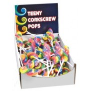 TEENY CORKSCREW POPS 96ct.
