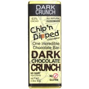 Chip 'n Dipped Dark Chocolate Crunch 2.9oz. Bar