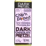 Chip 'n Dipped Dark Chocolate with Pretzel 2.9oz. Bar
