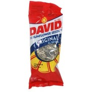 DAVID SUNFLOWER SEEDS1 5/8oz. TUBES 12ct.