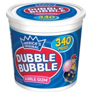Dubble Bubble Orig 340ct Tub