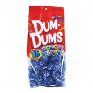Dum Dums Blue - Blueberry 75ct.