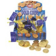 Chanukah Coins Milk Chocolate 24ct.