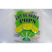 Fruit Slice Pop Apple 48ct.