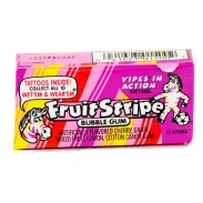 Fruit Stripe Bubble Gum 17pc.