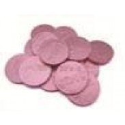 IT'S A GIRLPINK FOILEDMILK CHOC. COINS 2lb.
