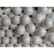 "Gumballs Pearl White 1"" 2lbs."
